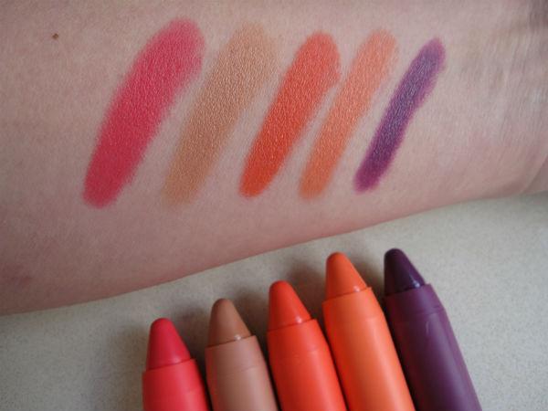 Revlon ColorBurst Crayon Matte Balm Swatch 2