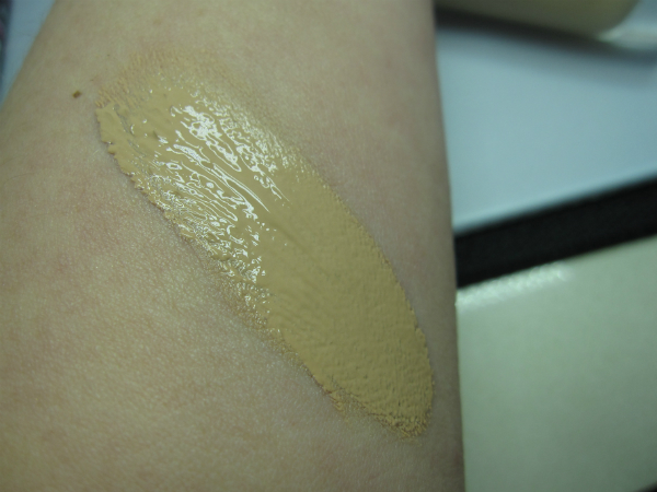 Maybelline Better Skin Foundation Swatch