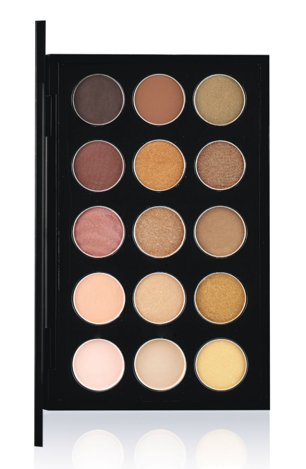 MAC EyeShadow X 15-Warm Neutral
