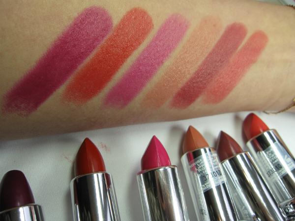 Mavalia Lipstick Swatch