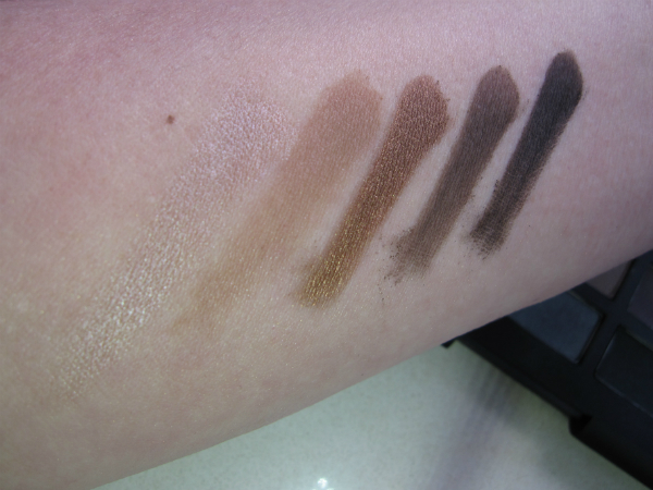 NARSissist Palette Top Row Swatch