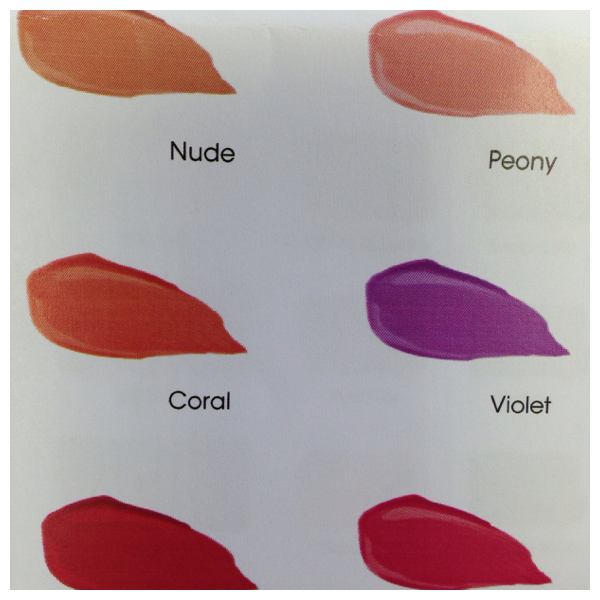 Too Faced Melted Colour Chart