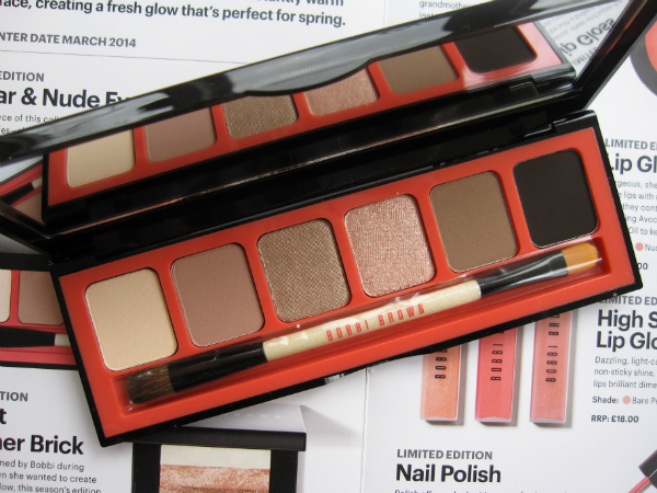 Bobbi Brown Nectar Nude Palette
