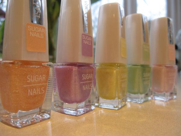 Isadora Sugar Nails Pastels