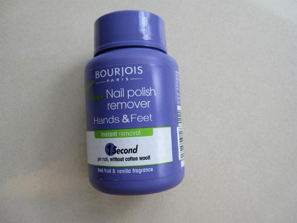 Bourjois Pedi Polish Remover
