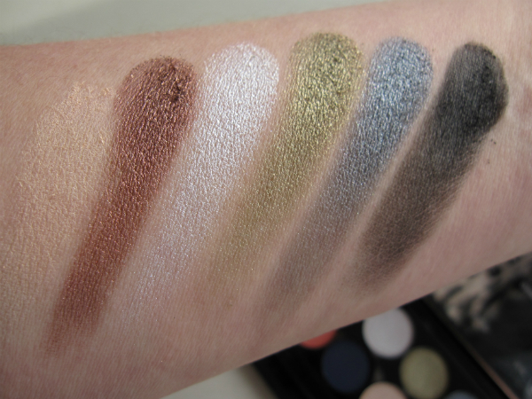 Superdrug Sleek Swatch Row 1
