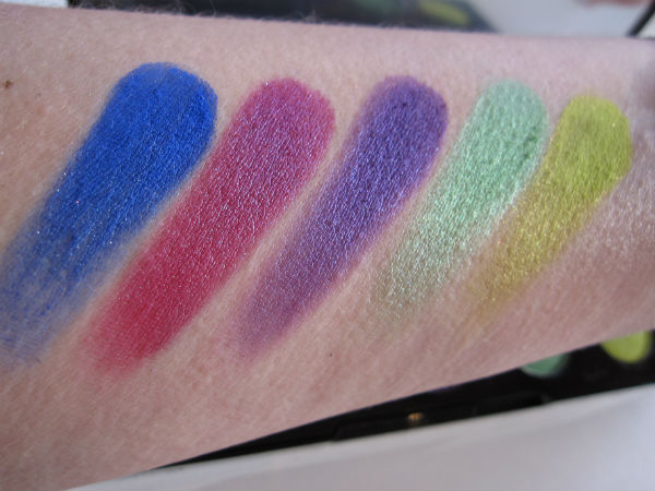 Urban Decay Electric Bottom Row