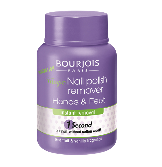 Bourjois 1 Seconde Magical Nail Polish Remover for Hands & Feet