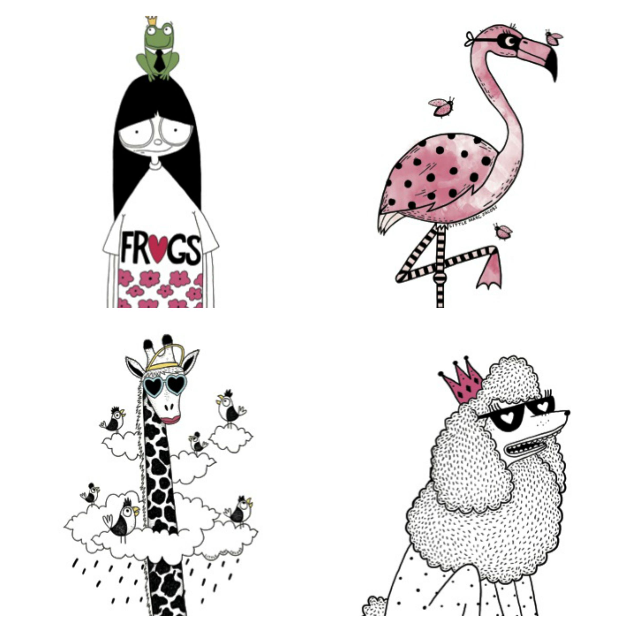 Marc Jacobs Temporary Tattoos
