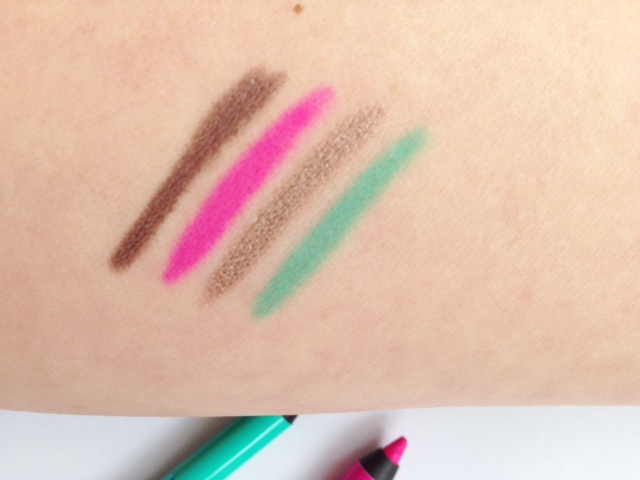 Bourjois Waterproof Clubbing Eyeliners Swatch
