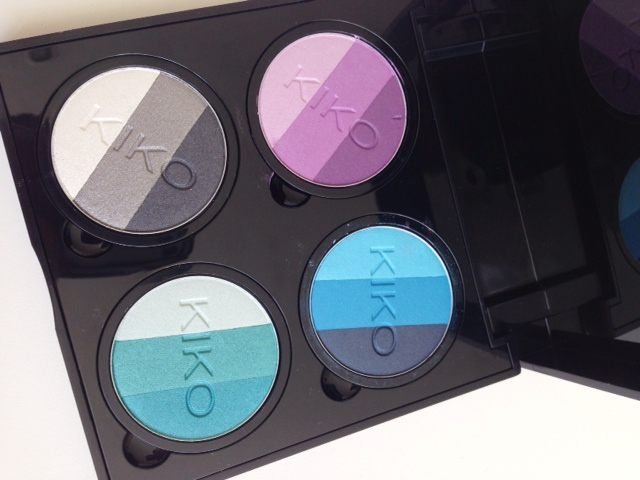 Kiko Infinity Trio Eyeshadows