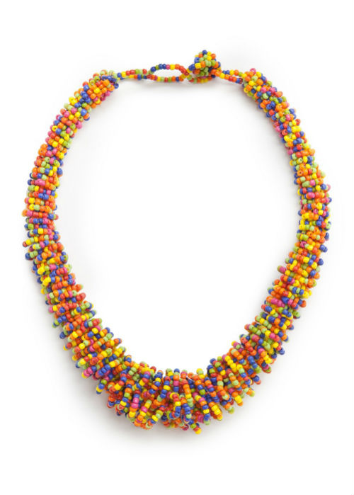 Mango Bead Necklace