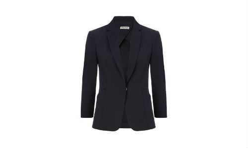 Whistles Cotton Pique Blazer
