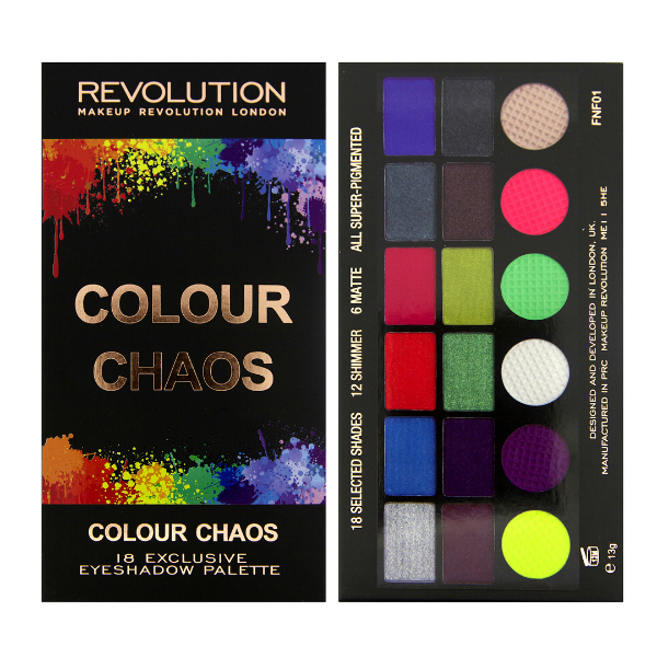 MakeUp Revolution Colour Chaos