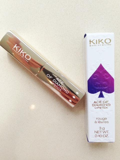 Kiko Ace of Diamond Lipstick