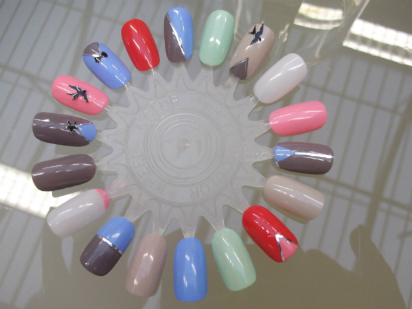 Bourjois Nail Wheel Nail Stickers and New So Laque Colours