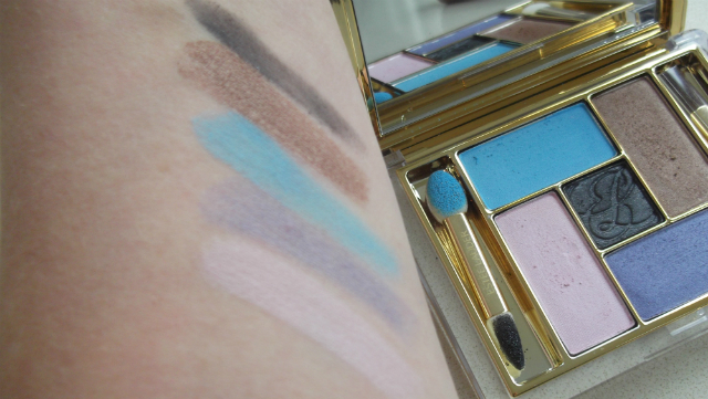 Estee Lauder Pretty Naughty Palette Swatch