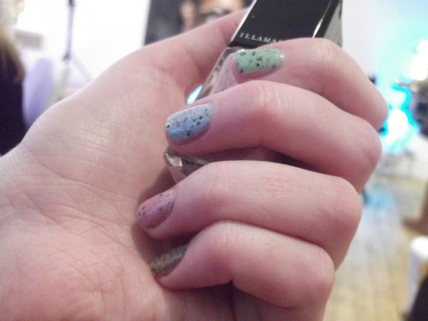 llamasqua Speckled Nails Swatch