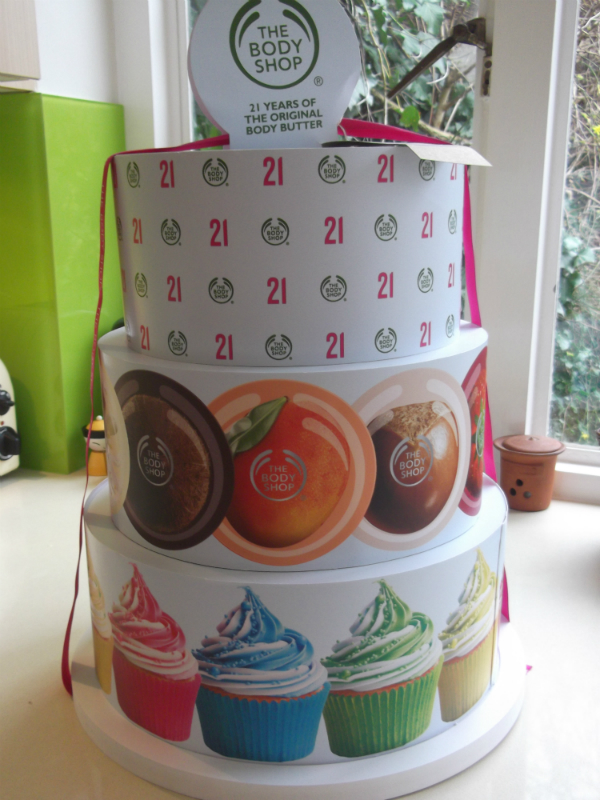 The Body Shop Body Butter Birthday Cake