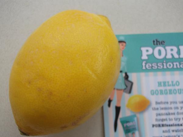 Benefit Porefessional Lemon