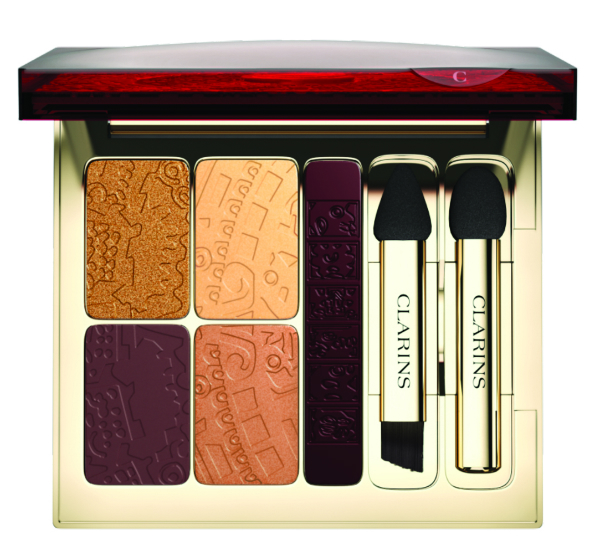 Clarins Quartet Eye Palette and Liner