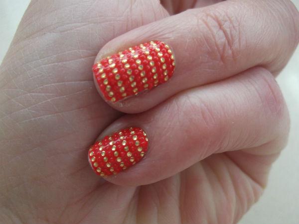Essie Sleek Stick Nail Wrap Swatch
