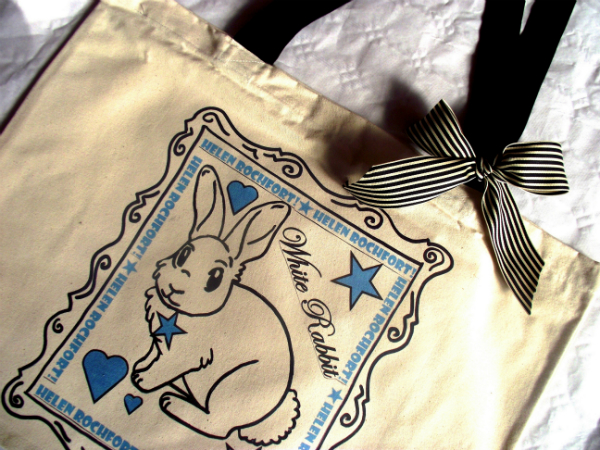 Helen Rochfort White Rabbit Bag