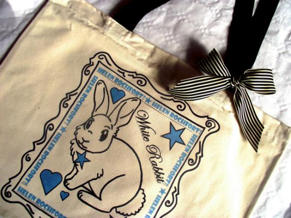 Helen Rochfort White Rabbit Bag
