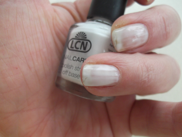 LCN Striptease Nail Peel Off Nail Undercoat