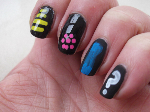 Ciate Chalkboard Nails with Gloss Coat