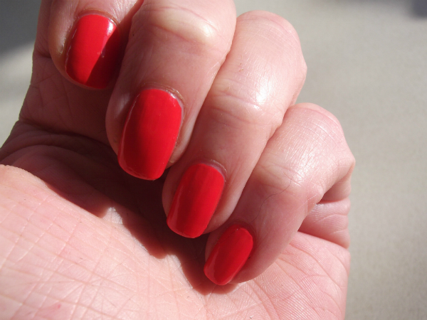 Clinique Nail lacquer Swatch