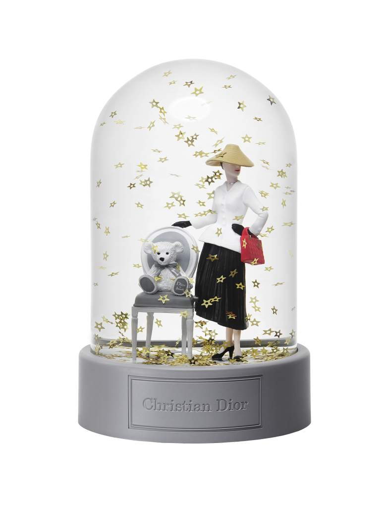 Dior at Harrods-Exclusive Snow Ball