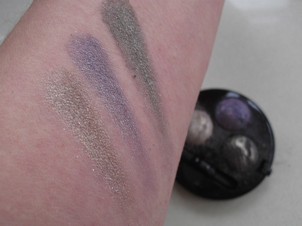 MUA Merged Trio Eyeshadow in Theatrics swatch