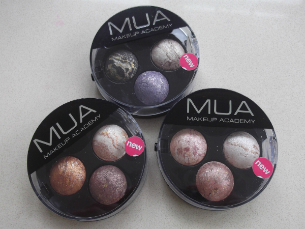 MUA Merged Trio Eyeshadows