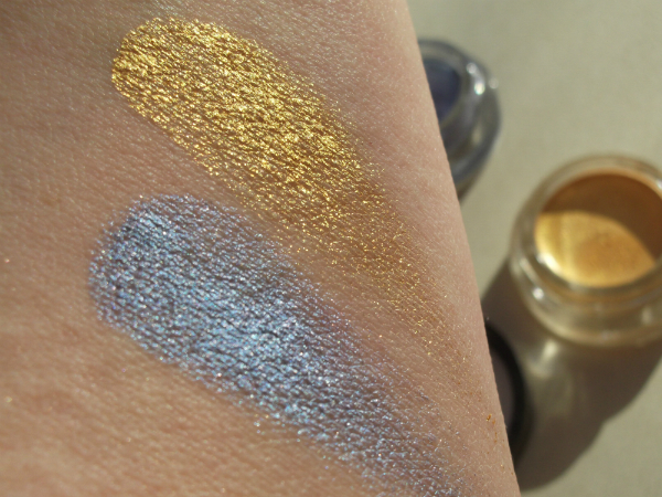Maybelline Color Tattoo Light In Purple Color Transformer and 24 Carat Gold Swatch