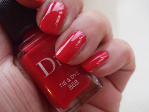 Dior Summer Mix Tie  & Dye Swatch 2