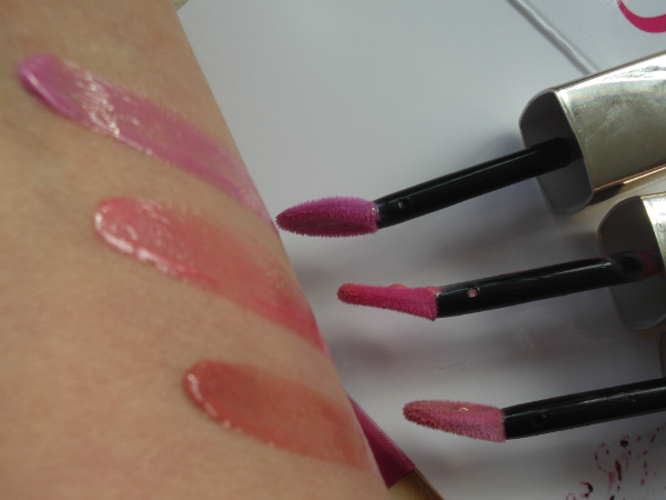 L'Oreal Glam Shine Stain Splash Swatch