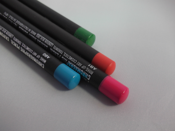 MAC Chromographic Pencils Unboxed