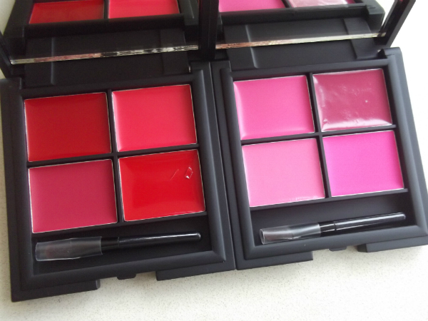 Sleek MakeUp Lip4 Palettes in Tease and Showgirl