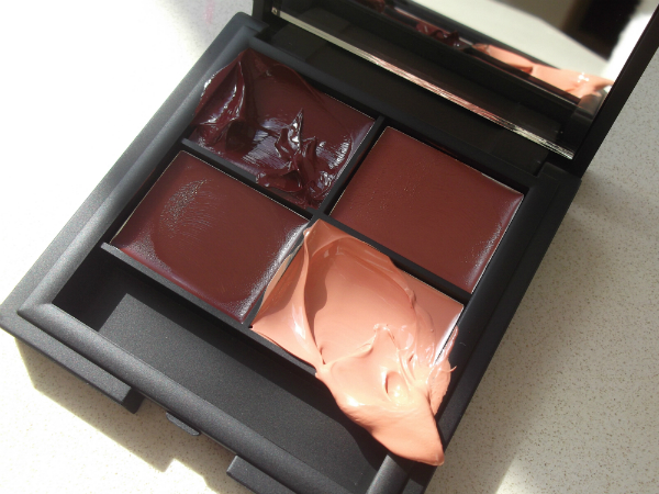 Sleek Lip4 Palette Havana Swatch