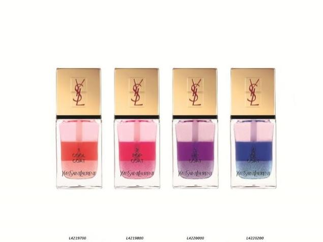 YSL Tie and  Dye Nails