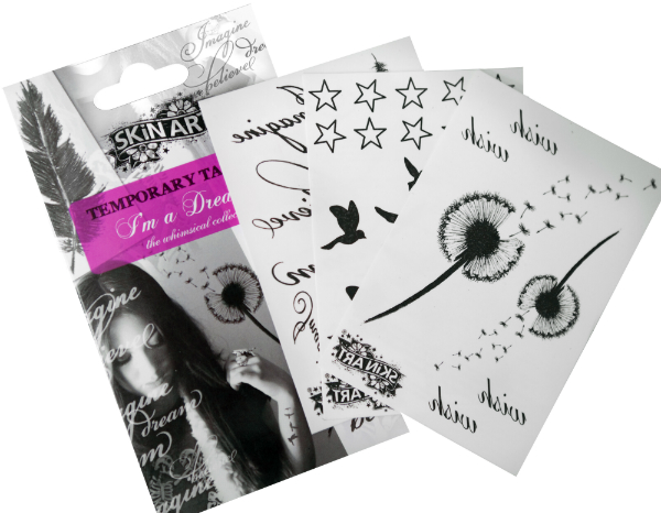 Skin Art Temporary Tattoos