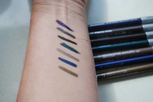 Clinique Quickliner Swatch