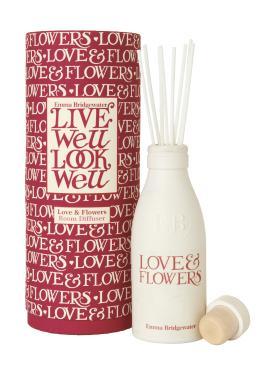 Emma Bridgwater Love & Flowers Room Diffuser