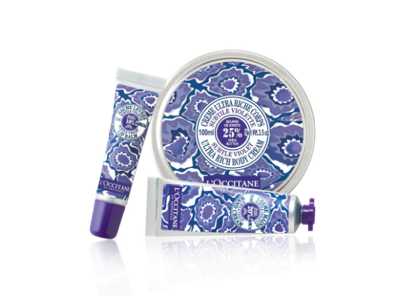 L'Occitane Violet Shea Collection