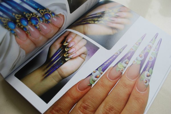 Nail Art Book Pages