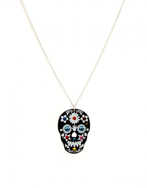 Tatty Divine Sugar Skull Necklace.