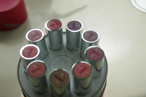 Body Shop Lipstick Pinks