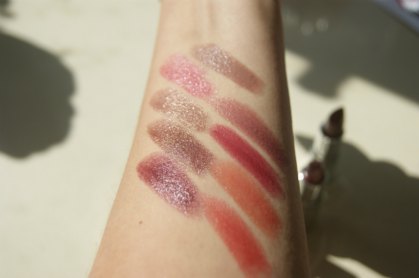 Body Shop Colour Crush Lipsticks Swatched