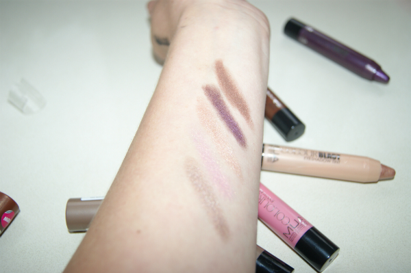 MUA Colour Sticks Swatch